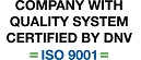 COMPANY WITH QUALITY SYSTEM CERTIFIED DNV UNI EN ISO 9001/2008