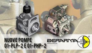 Nuove Pompe 01-PLP-2 e 01-PHP-2: