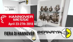 Berarma prenderà parte alla Fiera di Hannover in Germania