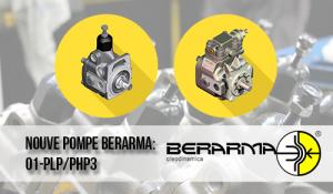 Ecco le nuove pompe Berarma: 01-PLP/PHP3 – (80cc ;100cc; 120cc)