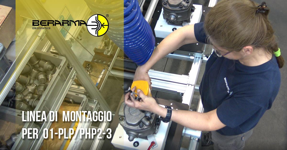 linea di montaggio pompe della grandezza 01-PLP PHP 2-3