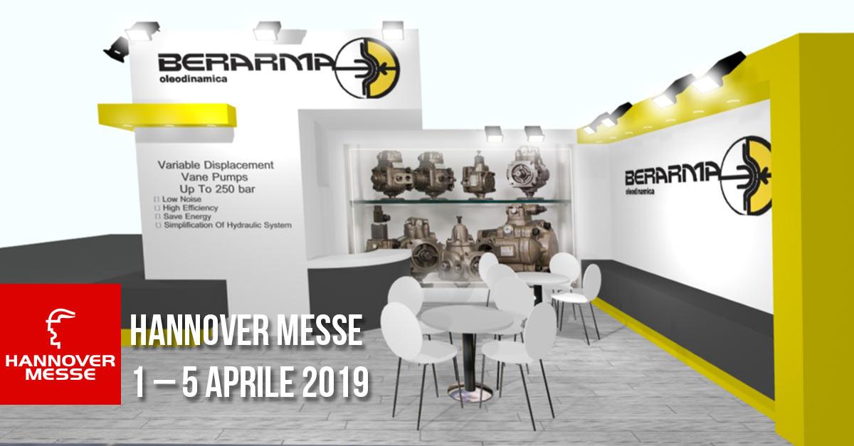Berarma parteciperà alla Fiera di Hannover ad aprile 2019
