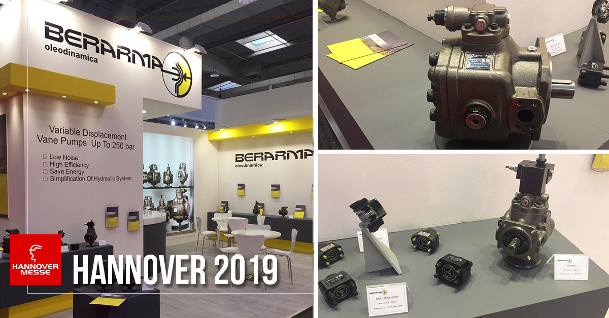 Berarma ha preso parte all'Hannover Fair 2019