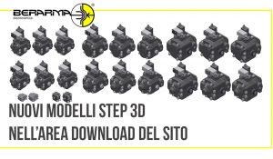Nuovi modelli Step 3D nell'area Download del sito